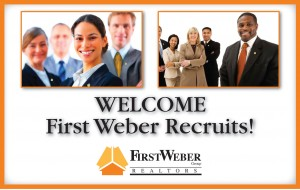 Welcome First Weber Wisconsin real estate agents