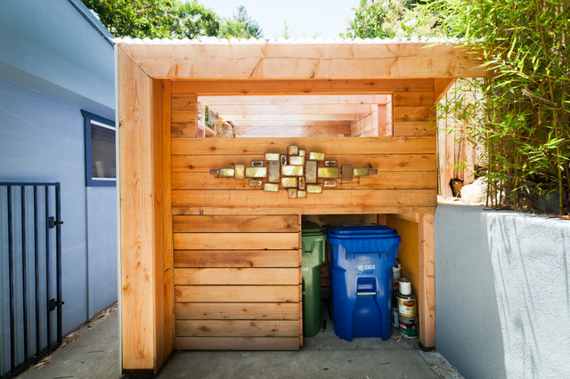 Inspired sheds great laundry room styles - Creative deck storage ideas integrating storage to your outdoor room ...