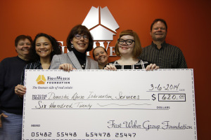 First Weber Foundation donates to Women's Shelter for Domestic Abuse
