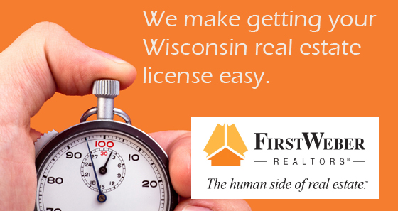 Wisconsin real estate license
