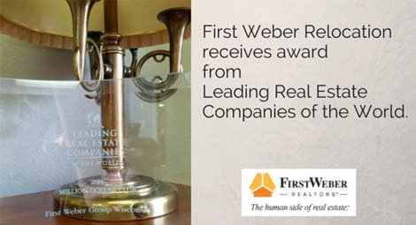 First Weber Relocation receives award
