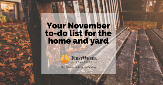 Your November To Do List For The Home Amp Yard