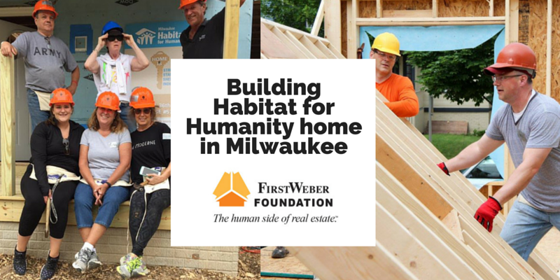 Building Habitat for Humanity home in Milwaukee