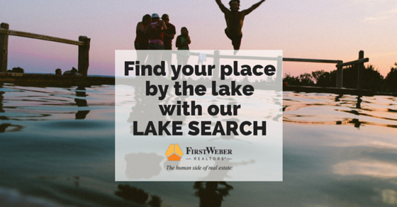 Find your place by the lake with our LAKE SEARCH