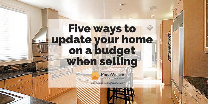 Five of the best ways to update your home on a budget (1)