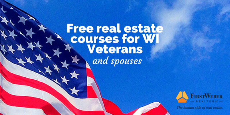 Free real estate courses for WI Veterans