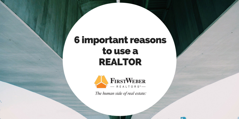 6 important reasons to use a professional REALTOR