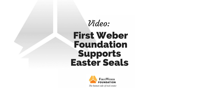 First Weber Foundation supports Easter Seals: video