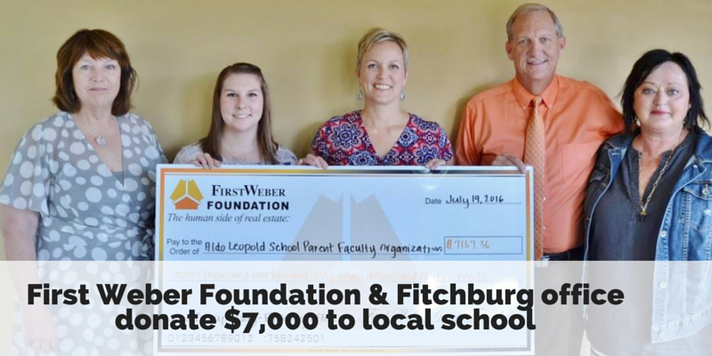 Foundation & Fitchburg office donate $7000