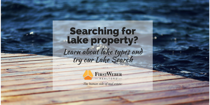 Searching for lake property-