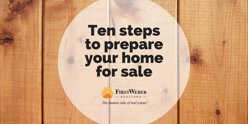 Ten steps to prepare your home for sale