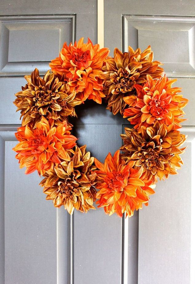 credit http://www.hometalk.com/10013981/easy-fall-wreath-in-5-minutes?utm_source=facebook&utm_medium=syndication&utm_campaign=rmd&utm_syndication_post=2373# wreath