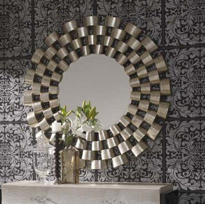 image credit http://www.exclusivemirrors.co.uk/round-mirrors/round-silver-modern-mirror-120cm