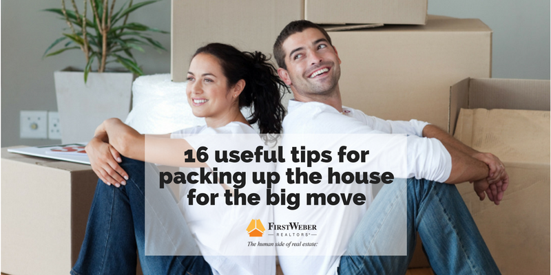 15 useful tips for packing up the house for the big move