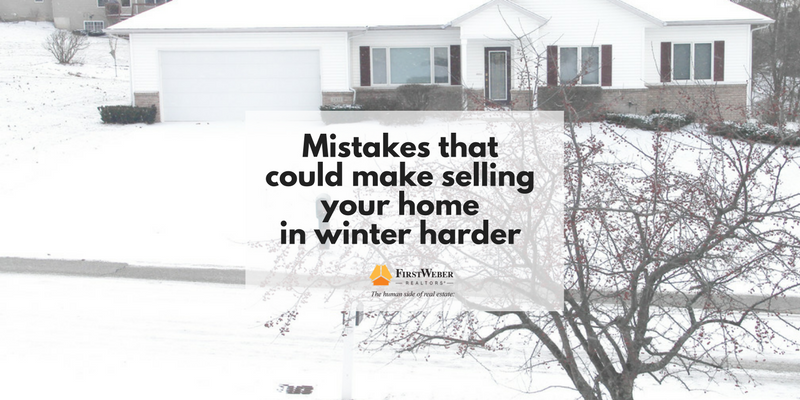 Mistakes that could make selling your home in winter harder (1)
