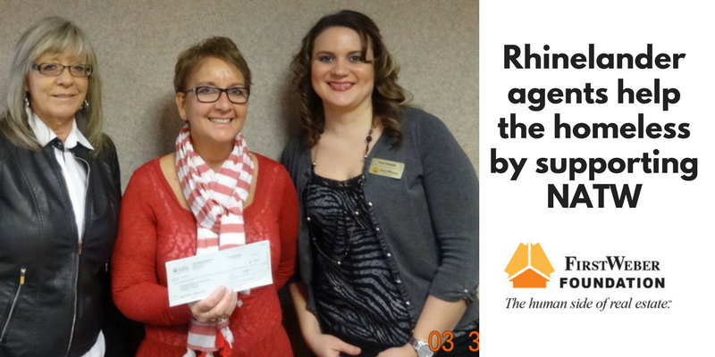 Rhinelander agents help the homeless by supporting Northwoods Alliance for Temporary Housing