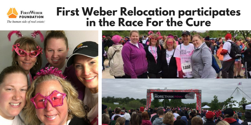 First Weber Relocation participates in the Race for the Cure