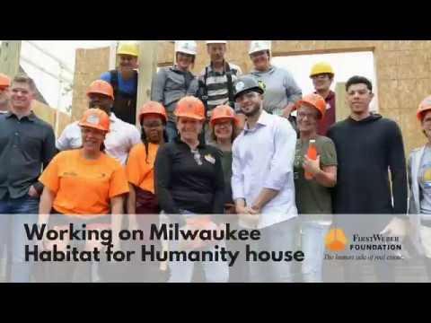 First Weber works on Habitat for Humanity House