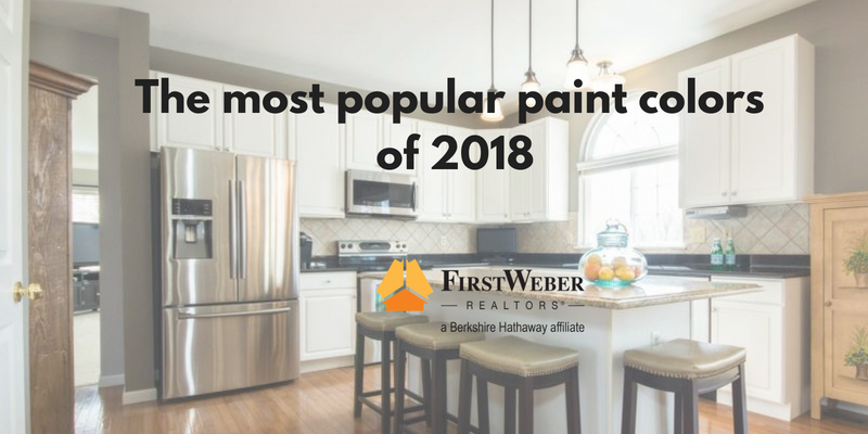 The Most Popular Paint Colors For 2018