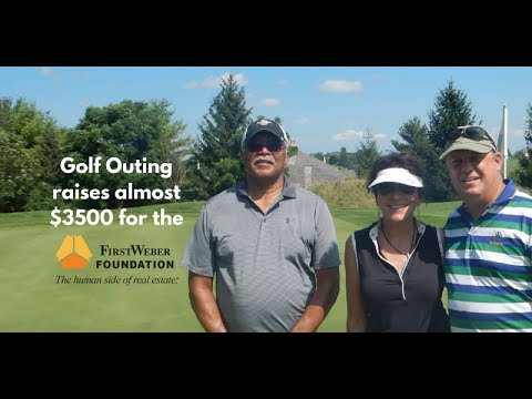 Almost $3,500 raised for the First Weber Foundation at recent golf outing in the Milwaukee area