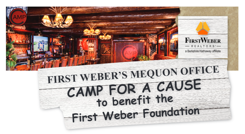 Come Camp with us to benefit the First Weber Foundation