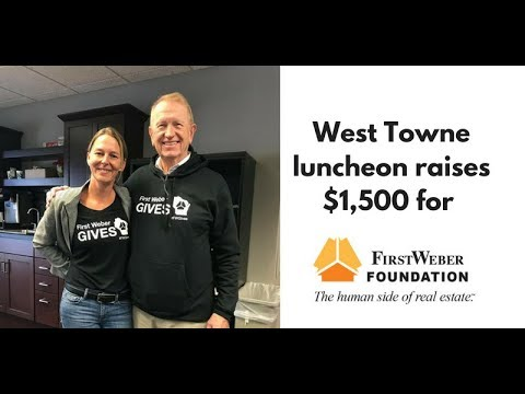 First Weber West Towne luncheon raises $1,500 for Foundation. #FWGives