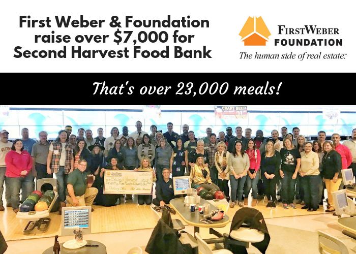 Over $7,000 raised for Second Harvest Food Bank